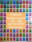 Animal Crossing Originale Amiibo Karten Serie 2 Auswahl Nr 101-200 EU-Version