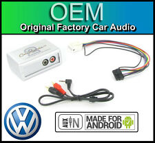 VW GOLF MK5 CONNETTORE INGRESSO AUX AUTORADIO ANDROID SMARTPHONE LETTORE
