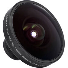 Opteka Vortex .2x Panoramic Massive Fisheye Lens for Canon Sony 37mm 30.5mm 30mm