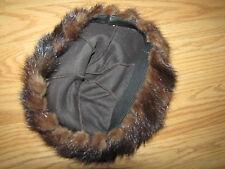 Mink Hat EUC