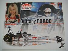 Brittany Force - 2007 Brand Source Super Comp Dragster Nhra Handout 00004000