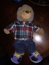 BUILD A BEAR WORKSHOP ONE DIRECTION RARE BEAR WITH COOL OUTFIT TRAINERS ALL BAB