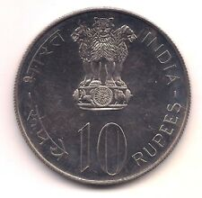1975  India Ten Rupees--Fabulous Proof like Surfaces !!