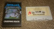 Metallica creeping death PAPER LABEL music for nations T12 KUT 112 france 1984