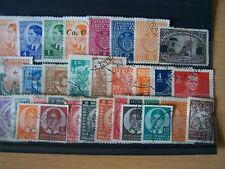 Yugoslavia selección de 33 sellos antiguos.