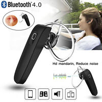 Universal Mini Wireless Bluetooth Headset Stereo Earphone Headphone Handsfree
