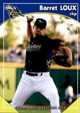 2016 Sugar Land Skeeters Grandstand #12 Barret Loux Houston Texas Baseball Card
