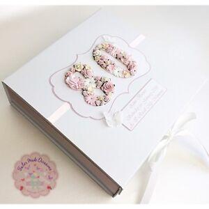 Extra Large Personalised Keepsake Memory Box. Milestone Any age & colour