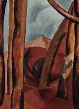 """1955 Original Picasso vintage photographie couleur """"paysage"""" Livre Plaque"""