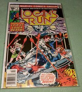 Logan's Run #3 (Mar 1977, Marvel)