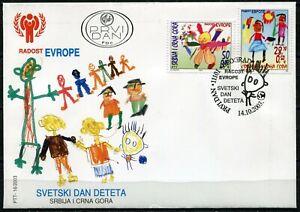 028 SERBIA and MONTENEGRO 2003 - JOY OF EUROPE - FDC