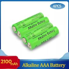 4PCS Brand New AAA Battery 2100mah 1.5V Alkaline AAA Rechargeable Battery Remote