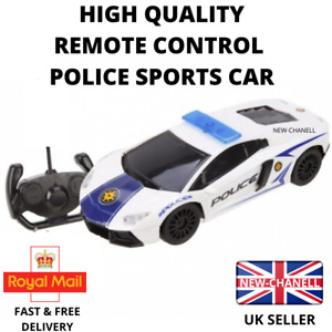 Police Car RC Robot Car Remote Control Kids Boys Toy Sports Cars Gift New UK