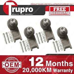 4 Pcs Trupro Lower+upper Ball Joints for SAAB 90 900 SERIES 67-93