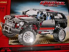 BUILD JEEP EXPLOITURE COMPLETE FROM BLOCKS 589 PCS KING STEERER