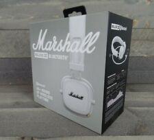Marshall Major III 3 Wireless Bluetooth Headphones White Grey