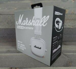 Marshall Major III Bluetooth On-Ear Headphones - White - NEW SEALED! SHIPS FAST!