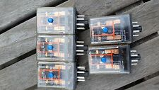 Omron MK2PND-S-DC24 SUPER MK GENERAL PURPOSE RELAY LOT of 5