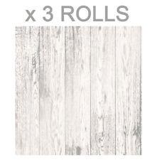 Fine Décor FD41957 Loft Wood Wallpaper White