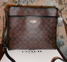 COACH SIGNATURE FILE BAG/ CROSS BODY BAG/ MESSENGER BAG BNWT $ 225.00