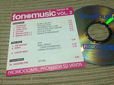 V/A FONOMUSIC CD SPAIN PROMO JACKSON 5 MICHAEL MAGNAPOP QUIET RIOT MARVIN GAYE