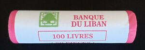 Lebanon Year 2009 Coin 100 Livres FULL ROLL UNC (50 pcs), sealed