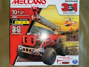 New Meccano  Rescue Squad, Engineering & Robotics, Kids assembly project 10+