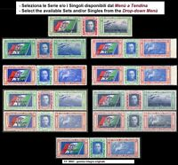 ** Italia Regno 1933: Trittici Crociera Nord Atlantica [Inserzione Multipla]