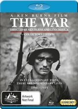 The War: A Film by Ken Burns Collectors Edition NEW B Region Blu Ray
