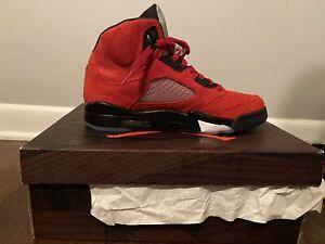 Size 8.5 - Jordan 5 Retro Raging Bulls 2021