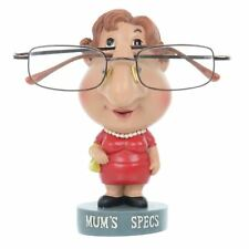 Novelty Reading Glasses Holder Mums Specs Stand Figure Hand Painted Resin Statue