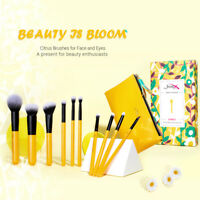 Jessup Make up Brushes Set 10Pcs Powder Foundation Blush Blending Cosmetic Tool