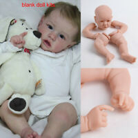 22'' Blank Reborn Doll Kits Unpainted Head&Full Limbs for DIY Reborn Baby Dolls