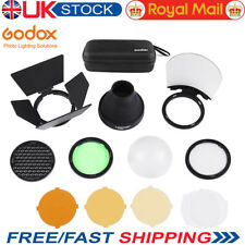 UK Godox AK-R1 Accessories Kit Honeycomb Snoot Diffuser Filters For  AD200 H200R