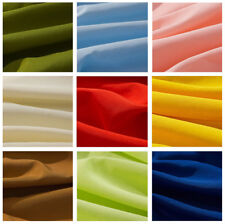 """15 YARDS 60"""" Inch Poly poplin POLYESTER FABRIC TABLECLOTH TABLE COVER 25 COLORS"""