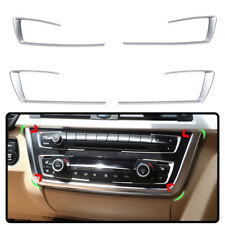 For BMW 3 4 Series F30 F32 F34 320 2013 2015 Chrome Dashboard Console cover trim
