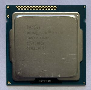 Intel Core i7-3770 SR0PK Desktop CPU 3.40GHz Quad Core 8MB Socket LGA1155