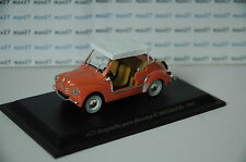 VOITURE RENAULT 4CV DECAPOTABLE 4 PLACES TYPE R1062 JOLLY 1/43 ELIGOR BLISTER