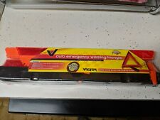 Vintage Victor Auto Emergency Warning Triangle- V-230- New in Package!