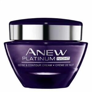 Avon anew platinum night  cream  - define and contour cream - 50ml