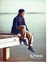 Publicité Advertising078  2012  baskets  chaussures Feiyue *** homme