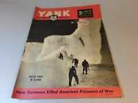 WWII WW2 Yank magazine Jan 26 1945 Vol 3 No. 32  Alaska Rescue - FREE SHIPPING