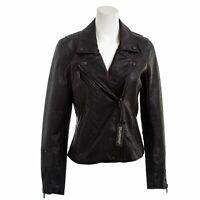 BLANK NYC Women's Vegan Leather Moto Jacket Size M
