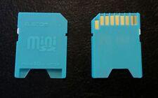 SLOT MINISD ADATTATORE MEMORIA DA MINI SD A SD ADAPTER per lettori di memoria SD