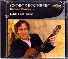 George rochberg 1918-2005 caprice variations Eliot Fisk Nimbus CD Guitar Guitare