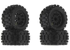 "Pro-Line Badlands MX28 2.8"" All Terrain Mounted Tires Wheels 4 Stampede Rustler"