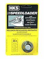 HKS Speedloader 357 Magnum Fits 5-shot S&W J Frame, Taurus 605 Ruger 36-A