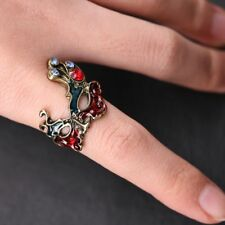 Ring Retro Rhinestone Ring Unique For Boy Girls Gift Mask Ring Jewelry Ring
