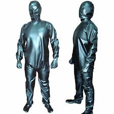 100% Handmade Latex Rubber Clothing Kapper-man Suit AngelDis Brand #01014