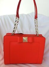Kate Spade New York Leather Bow Terrace Monroe Bag in Maraschino-NWT: SRP:$398